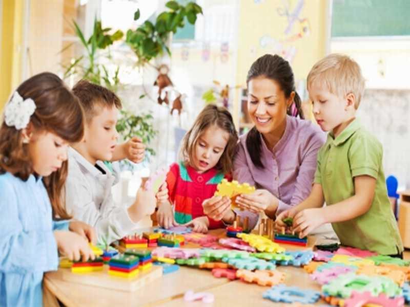 Kindertagesstätten in Schweden