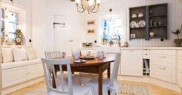 Schwedische Wohnungseinrichtung