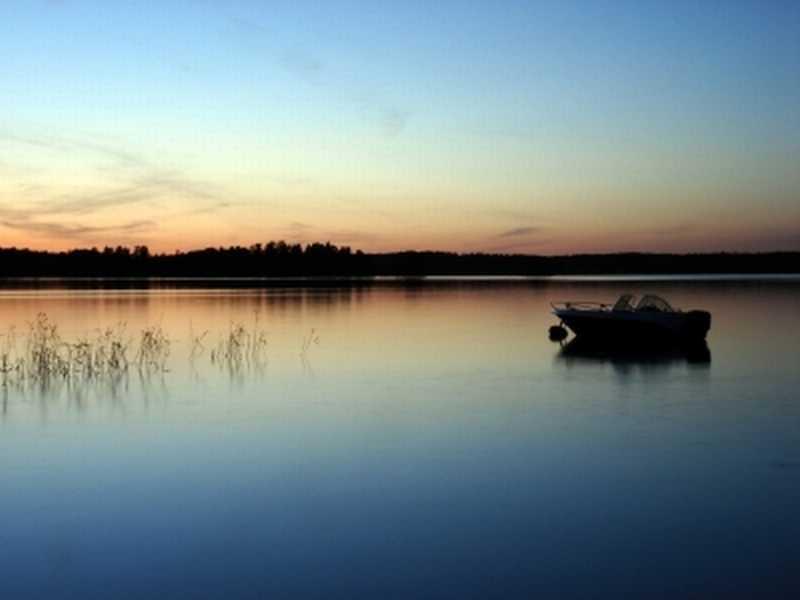 Weiße Nächte in Schweden